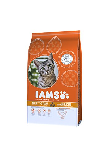 IAMS Adult Dry Cat Food with Fresh Chicken, 3Kg 1