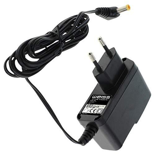 Netzteil für Makita Baustellenradio DMR110 DMR107 DMR108 DMR106 DMR104 DMR109 BMR100 BMR104 [kompatibel mit Makita SE00000265 Steckernetzteil] von Weiss - More Power +