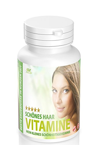 Natürlich schöne Haare mit Biotin: OAD Formel für Beste Ergebnisse. Biotin, Vitamine, Mineralien - Hochdosierter Haar Vital Komplex mit 120 Tabletten reicht für mindestens 3 Monate