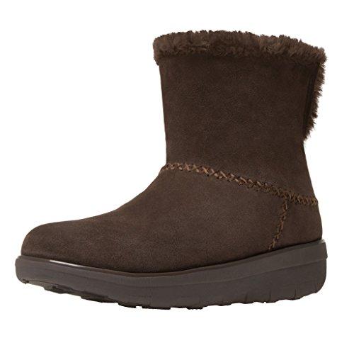 FitFlop Mukluk Shorty 2 Stiefel Schokolade Brown