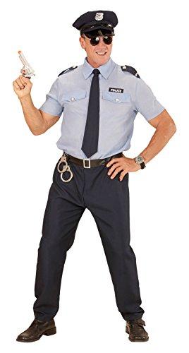 ,Karneval Klamotten' Kostüm Polizist Sander Herr Karneval Polizei Herrenkostüm Größe (Polizei Kostüm Deutsche)
