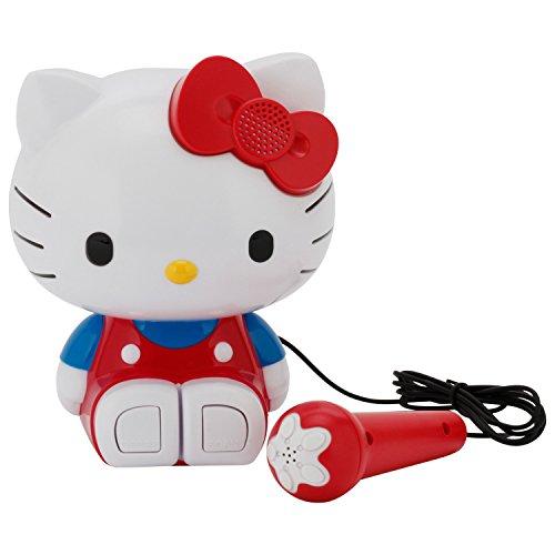 Sakar 21009 - Hello Kitty Sing a Long Karaoke (Kitty Radio Hello Cd Player)