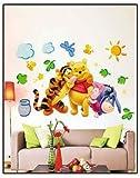 Winnie the Pooh & Friends – Kinder Wandaufkleber Home Kunst Deko Wandtattoo - 2