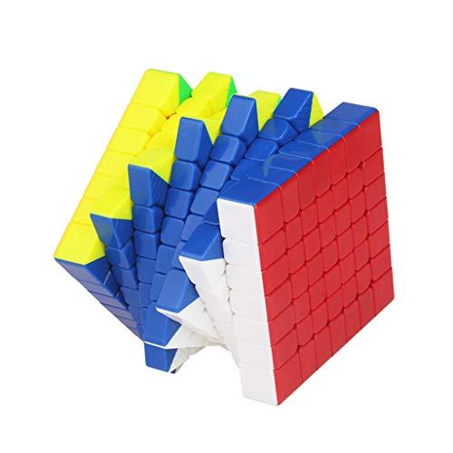 Lecc Rubik's Cube Puzzle High-End Magnetische Kraft Fluoreszierende Farbe Glatte 7X7x7 Umwelt ABS Material Kreative Gehirn Training Spiel Bildung Spielzeug