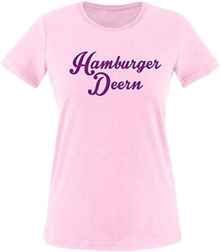 EZYshirt® Hamburger Deern Damen Rundhals T-Shirt