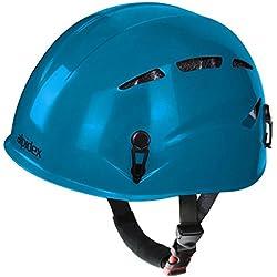 Casco de escalada universal ARGALI Casco de ferrata en modernos y variados colores de Alpidex, Farbe:turquoise blue