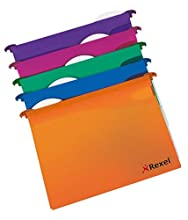Rexel 2101564 cordage : extra hängemaPPe a4-15 mm-plusieurs coloris-lot de 10