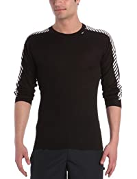 Helly Hansen - Camiseta deportiva para hombre (manga larga), diseño a rayas, varios colores