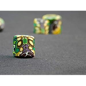Dread Bead, Dread Perle, Dreadschmuck, Dreadjewelry, Handmade