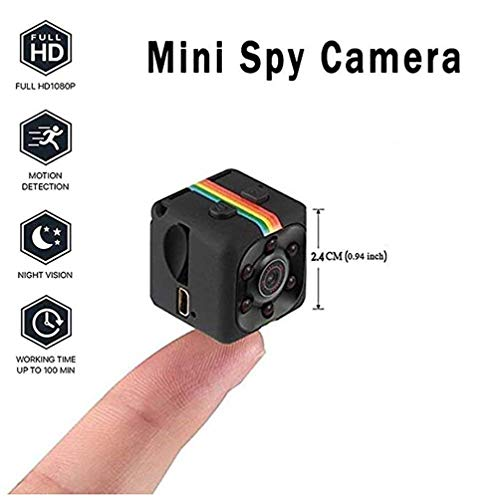 Kamera DV Video Recorder -Spion Versteckt Wireless Mini-Kamera 1080P HD Portable Mini Security Camera Mit Night Vision/Motion Detection -
