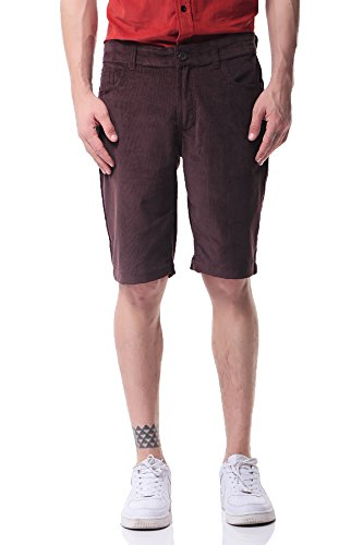 Pau1Hami1ton PH-19 Mens flat front shorts (40, (Cop Gürtel Kinder)