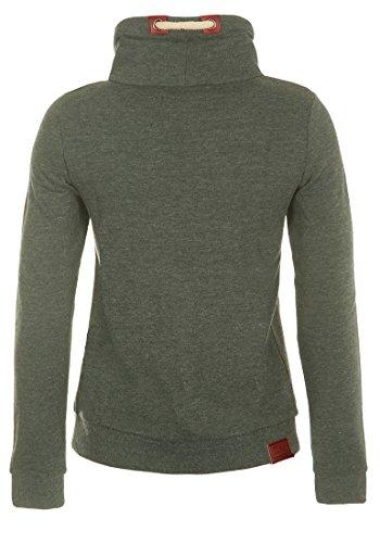 DESIRES Liki Tube Damen Sweatshirt Pullover Sweater Tube aus hochwertiger Baumwollmischung Climb Ivy