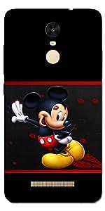 SEI HEI KI Designer Back Cover For Xiaomi Redmi Note 3 - Multicolor