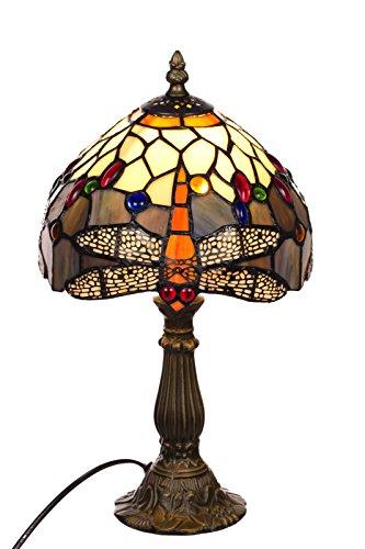 Tischlampe im Tiffany Style, Tiff 140, Tischlampe Motiv Lampe , Dekorationslampe, Tiffany Style, Glaslampe, Leuchte ,Tischlampe, Stehleuchte, Stehlampe, Leuchte Lampe