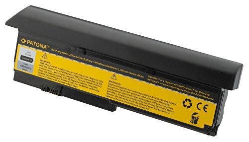 PATONA Laptop Akku für IBM X200 | X 200 | X200s | X 200 s - [ Li-ion; 6600mAh; schwarz ] (Unter $200 Netbook-computer)