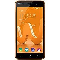 Wiko Jerry Smartphone (12,7 cm (5 Zoll) Display, 16 GB interner Speicher und 1 GB RAM, Android 6 Marshmallow) orange-grau