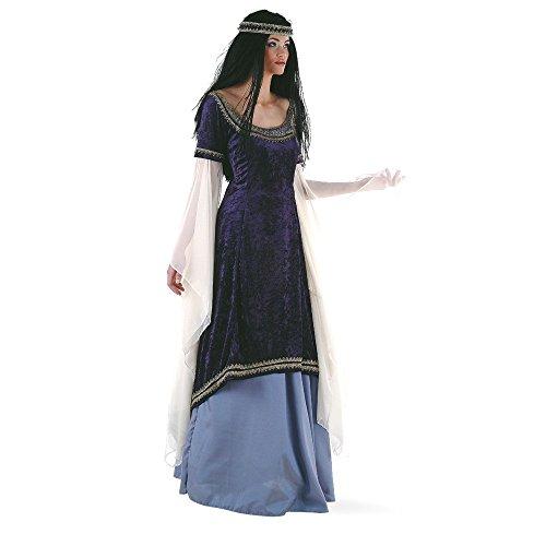 Limit Sport Mittelalterliches Elfenkönigin-Kostüm Deluxe für Damen - - Traumhafte 3 Teilig Kostüm