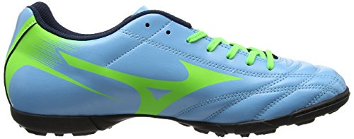 Mizuno Monarcida Neo As, Chaussures de Football Homme Bleu (Norse Blue/neon Green)