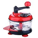 SHKY Procesador de Alimentos - Agitador de Alimentos - Triturador de Verduras Multifuncional Manivela Manual Procesador/Picador de Alimentos, licuadora, trituradora, picadora de Carne