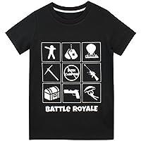 Battle Royale Maglietta a Maniche Corta per Ragazzi Battaglia Reale