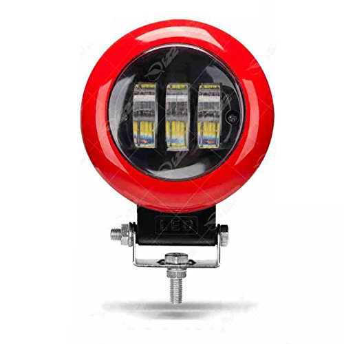 30W 4 Zoll Lampe LED Arbeitslicht Spot Light LED Engineering Lampe (Farbe : 180° wide angle) (Spot Powersport)