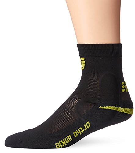 CEP Ortho Ankle Support Short Socks Schwarz