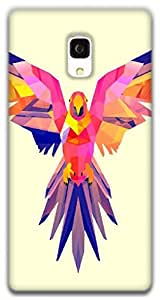The Racoon Lean Pastel Parrot hard plastic printed back case / cover for Xiaomi Redmi