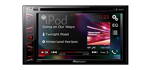 Pioneer AVH-290BT High Quality 6,2 Zoll Touchscreen Multimedia Receiver | Moniceiver mit Bluetooth Freisprecheinrichtung AUX-In Videoausgang USB Anschluss | 2 DIN Autoradio CD & DVD Player