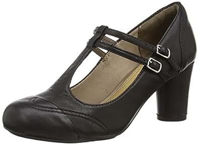 Hush Puppies Kennedy Anya, Chaussures de ville femme - Noir (Black), 43 EU (9 UK) (11 US)