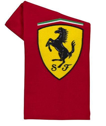 FERRARI F1 Scudetto Fleece Decke, Rot, One size Test