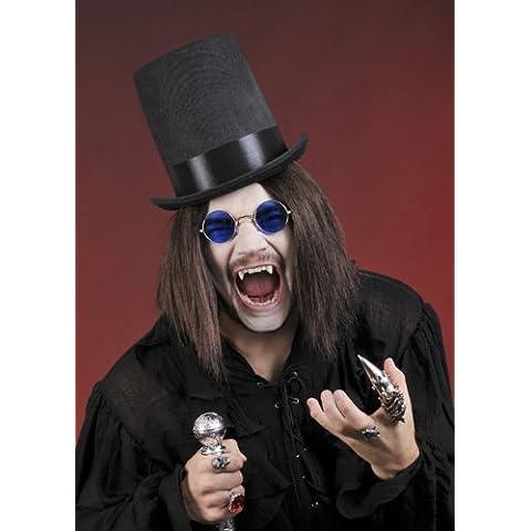 Vampiro gotico Stovepipe nero (Cappelli Vittoriani Per Le Donne)