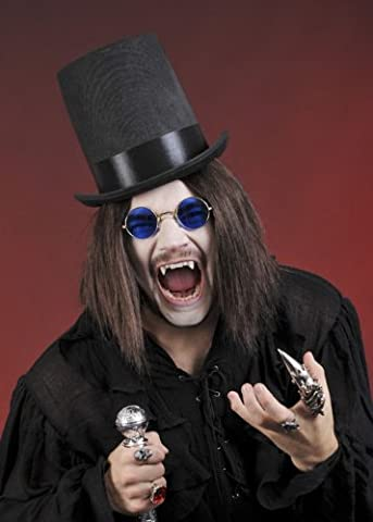 Gothic Vampir schwarz Stovepipe Hut (Bram Stokers Dracula-kostüm)
