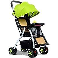 Kinderwagen Kann Zurücklehnen Ultra Leichte Faltbare Baby Kind Kinder Vier Rad Trolley