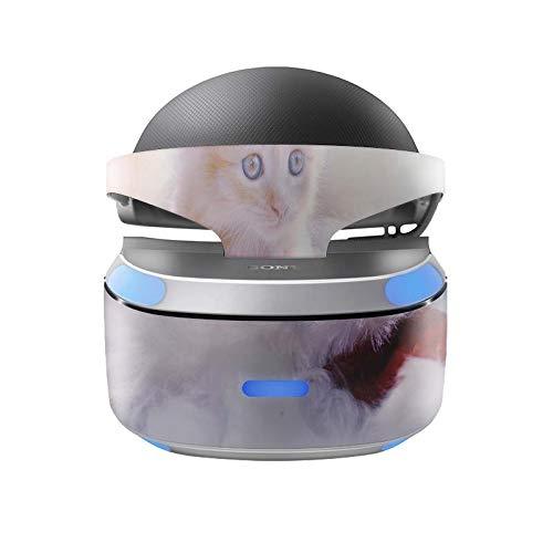 Skins4u Aufkleber Design Schutzfolie Vinyl Skin kompatibel mit Sony PS4 Playstation 4 VR Brille Kaetzchen