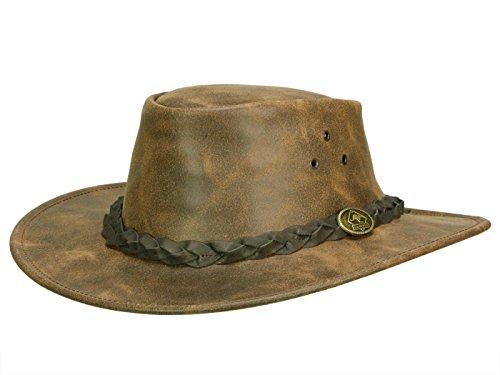Sombrero de Piel Traveller by Scippis (L 58-59 - marrón) 7123b00170c3