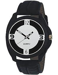 Men's Original Black Dial Black Strap Analog Watch