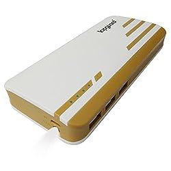 Lapguard Sailing1530-11k 11000mAH Power Bank (White-Gold)