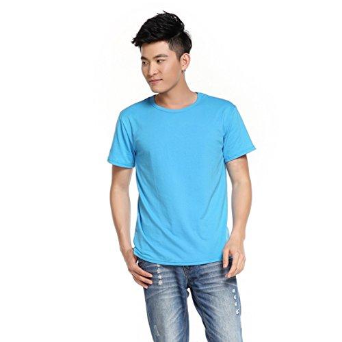 MTTROLI Herren T-Shirt Seeblau