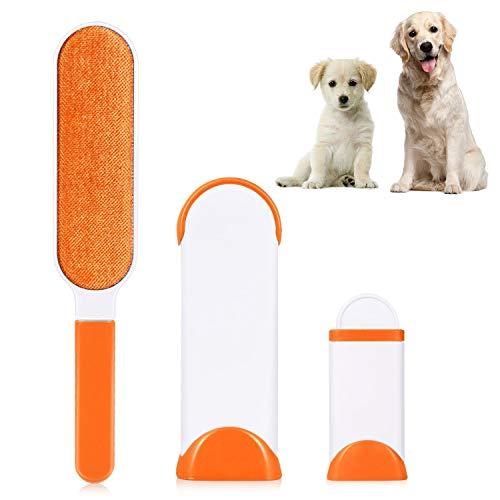 HJHY Épilation pour animaux de compagnie, brosse à peluche pour chiens, poil pour chat et poil avec base auto nettoyante