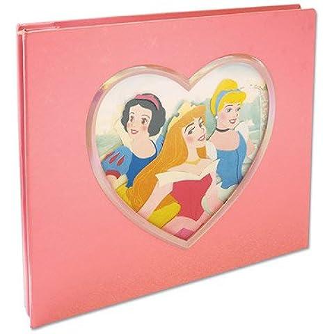 Disney 8x8 Postbound Scrapbook Photo Album PRINCESSES IN HEART by Sandy Lion