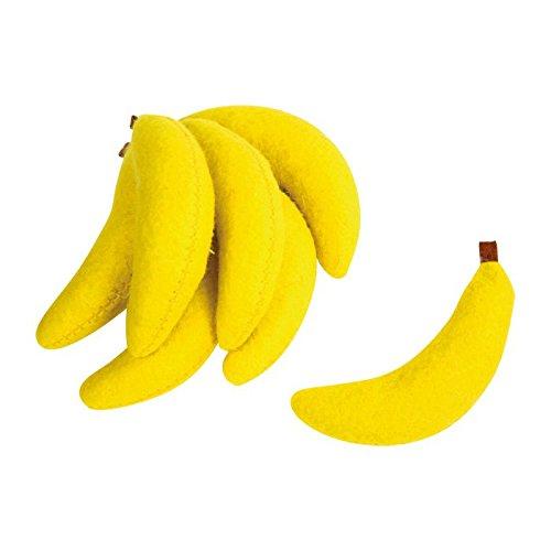 Legler 4419 - Filz-Bananen, Zubehör, 7-er Set