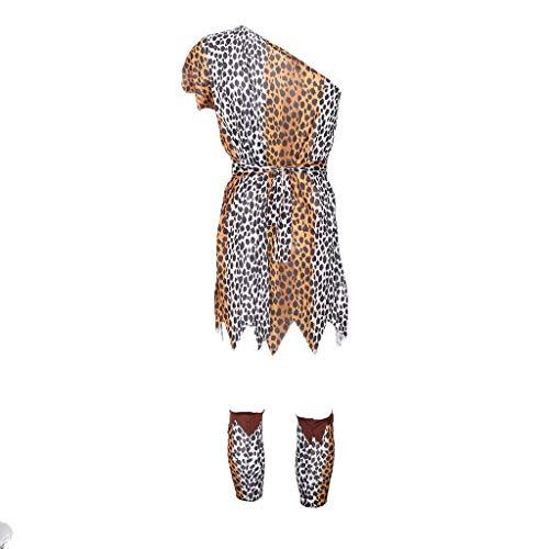 Kostüm Cave Frauen - sharprepublic Fashion Cave Stud Adult Kostüm Kleid Für Cosplay Party, Bühnenauftritt - E-Male