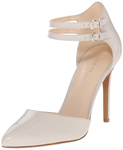 Nove in pelle occidentale Eastlyn pompa Dress Light Grey