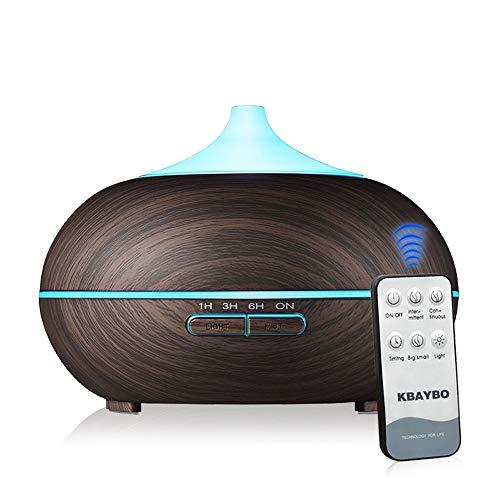 KBAYBO Diffuseur Huiles Essentielles Télécommande Ultrasonique Humidificateur