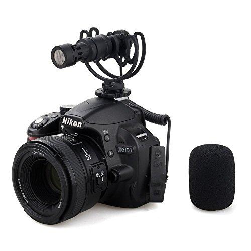 MASUNN Vm10 Cardio-Direktionale Kondensator Schrotflinte Video Mikrofon Für Comica