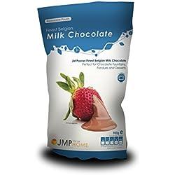 Meilleur lait Chocolat Belge sac 900kg - Adapté pour une fontaine de chocolat et une fondue au chocolat