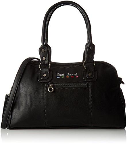 Little Marcel Damen Id01 Bowling Tasche, Schwarz (Black), 14x23x39 cm