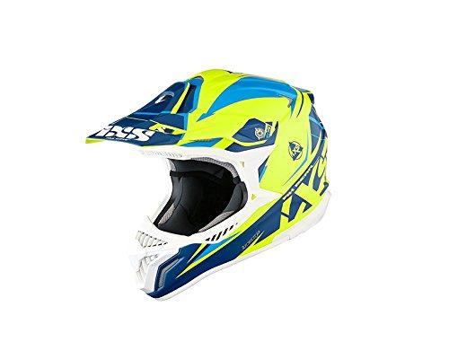 Motocrosshelm IXS HX 179 FLASH gelb-blau Gr.XL