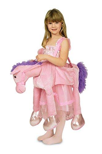 rosa Pferd zur Prinzessin Karneval Fasching ()