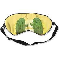 Cute Cactus Hug 99% Eyeshade Blinders Sleeping Eye Patch Eye Mask Blindfold For Travel Insomnia Meditation preisvergleich bei billige-tabletten.eu